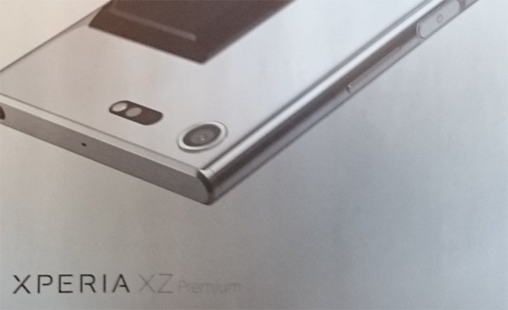 Sony Xperia XZ Premium leaked, and it's very shiny https://t.co/3ENSEcD0Gv...