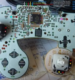 kadano on twitter gamecube controller pcb pinout documentation https t co z8jaely4kh  [ 1200 x 749 Pixel ]