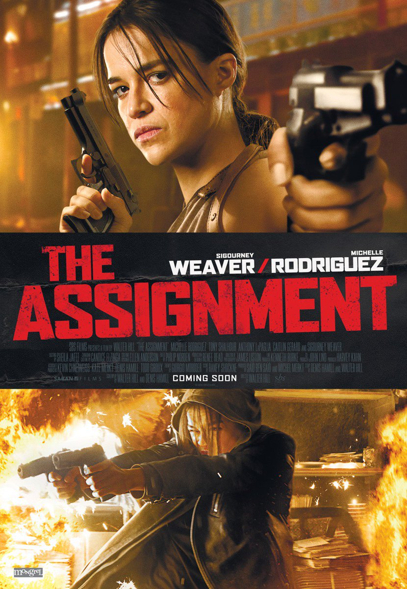 New The Assignment Trailer Featuring Michelle Rodriguez 7