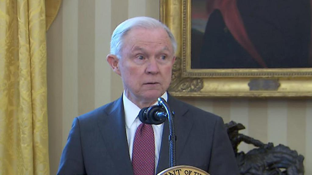 Jeff Sessions says there's more violence around marijuana
