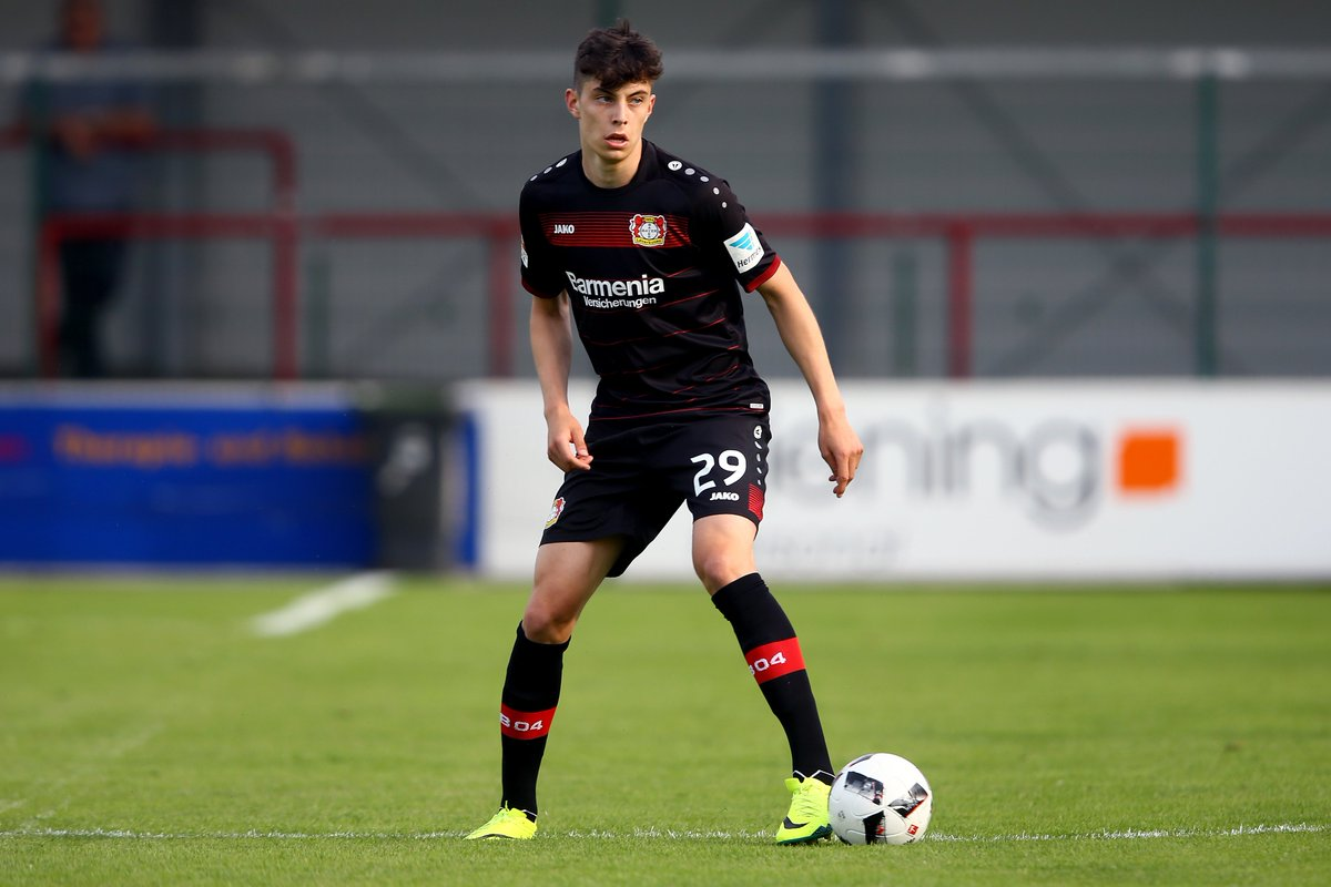 Image result for kai havertz bayer