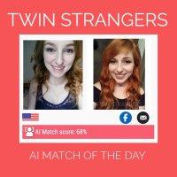 Le site Twin Strangers