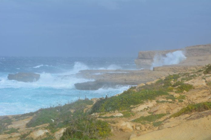 Gozo Secrets On Twitter Wow The Azure Window Has Gone Photo 1 Taken At 9 30am Today And The Second At 11am Today What A Sad Day Azurewindow Gozo Malta