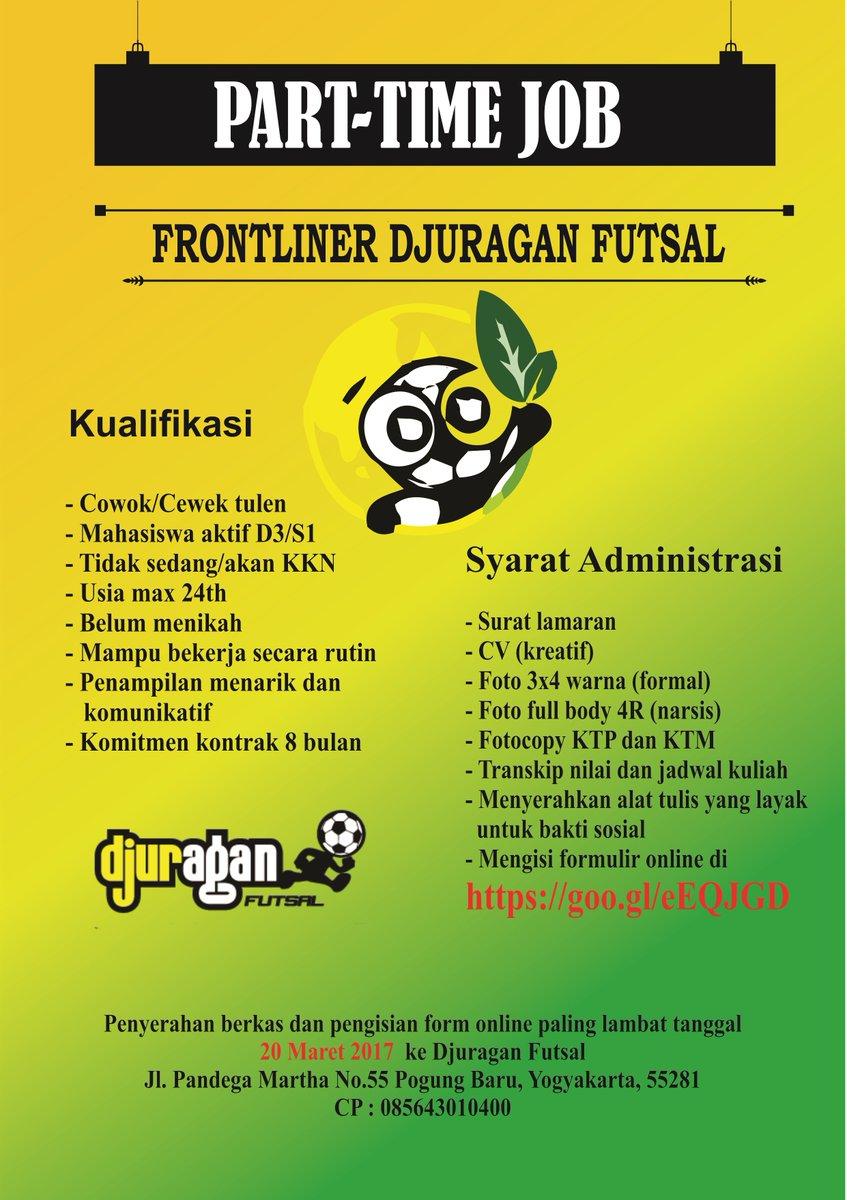 lowongan kerja Sma, Part Time di Yogyakarta, Sma, Part