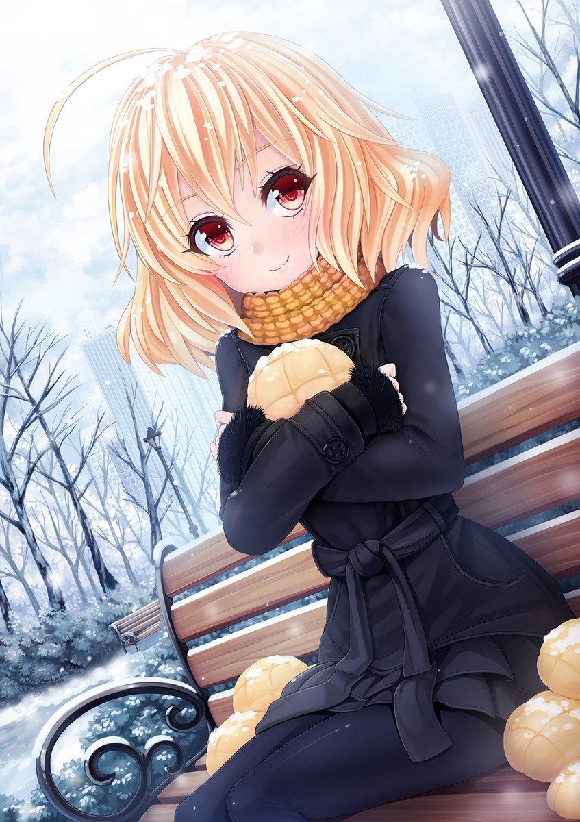 Short Blonde Hair Anime Girl : short, blonde, anime, RandomBoard, Twitter:,