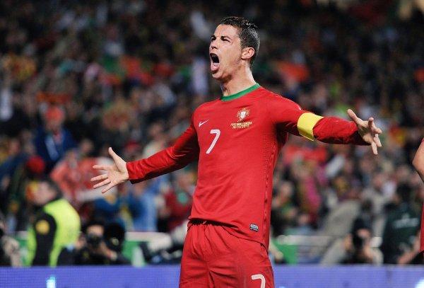 Cristiano Ronaldo Portugal Caps 137 Goals 70