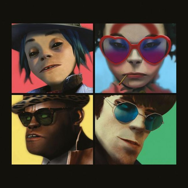 Gorillaz – Humanz Tracklist and Album Art