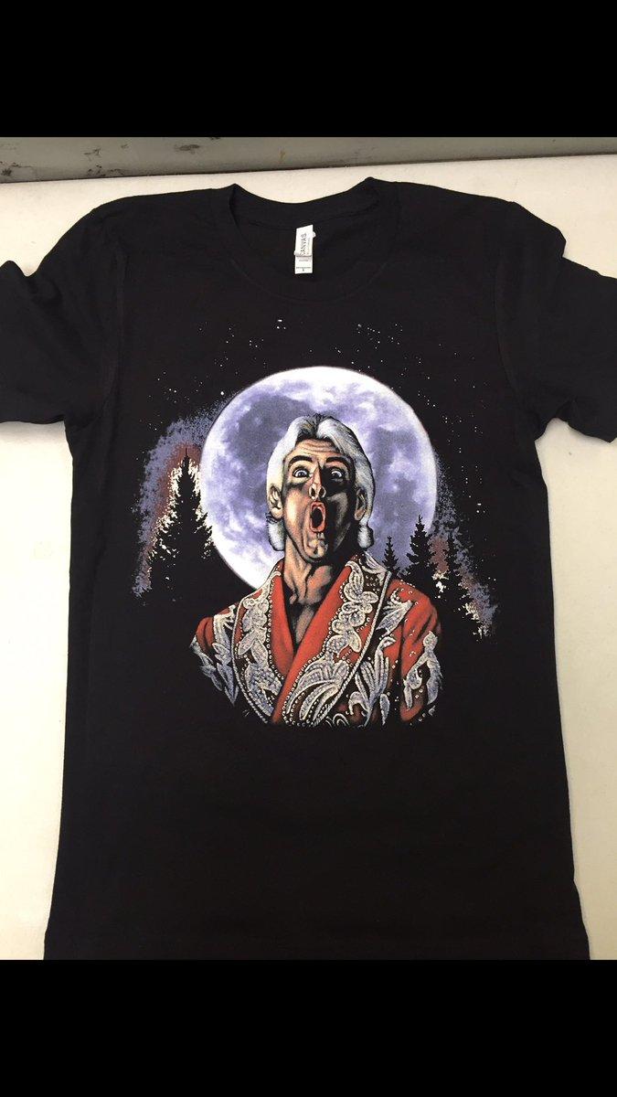 a380b1eba1f Chic Ric On At Moon Shirt Ric On At Moon Shirt Available Ric Flair ...