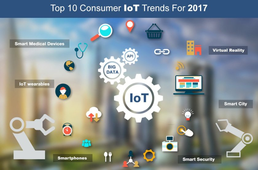 Five #IoT Trends To Consider In 2017 by @YEC on @forbes  #BigData #machinelearning