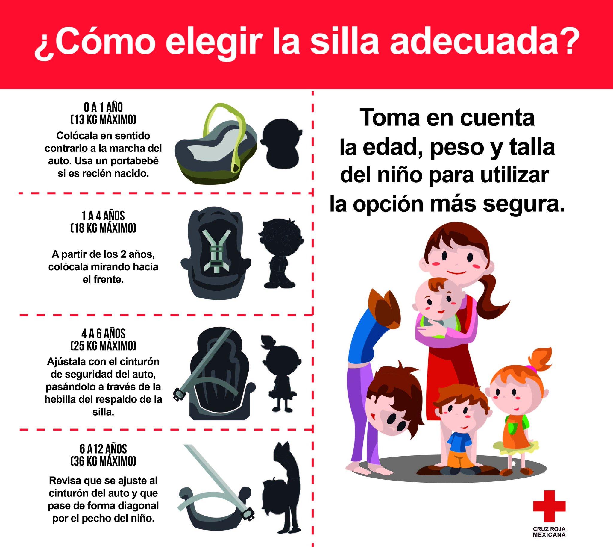 Uso de silla de seguridad hasta los 12 aos  El Diario de Coahuila