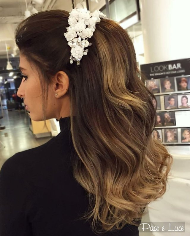 """pace e luce official on twitter: """"gorgeous wavy bridal"""