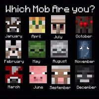 "Mine Chest  on Twitter: ""Which Minecraft mob are you"