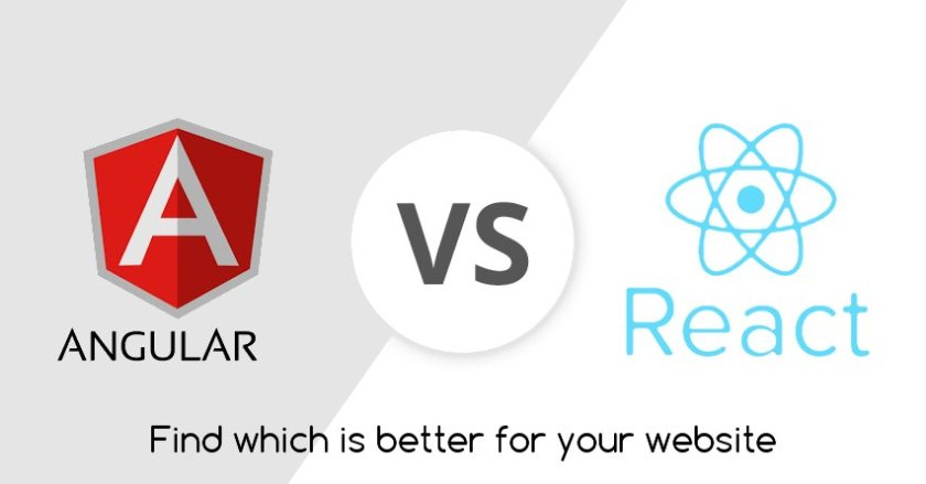 #Angular or #React which #JS #framework is best for your website?