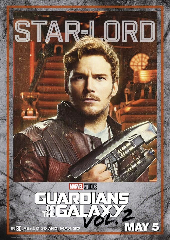 Guardians of the Galaxy Vol. 2 Character Posters Revealed