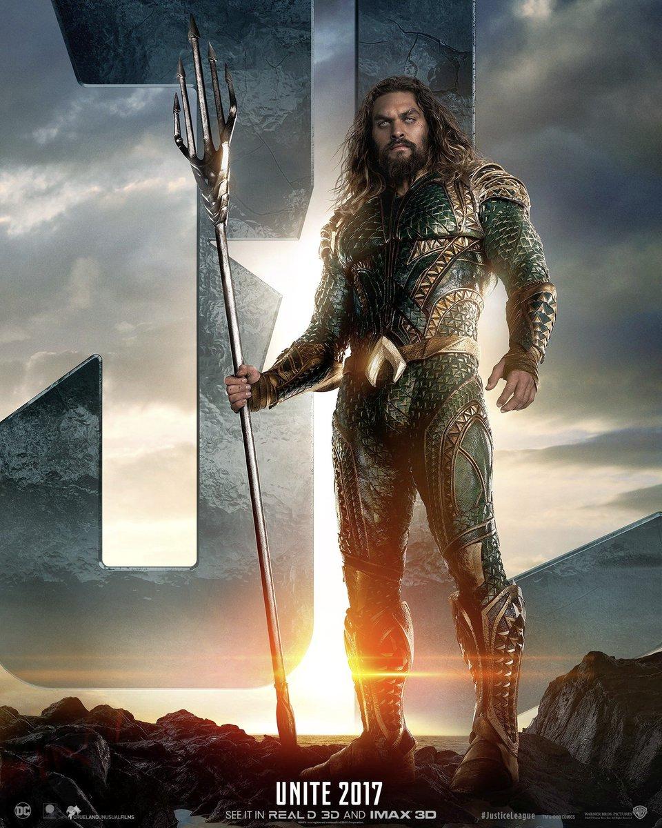 Jason Momoa as Arthur Curry / Aquaman
