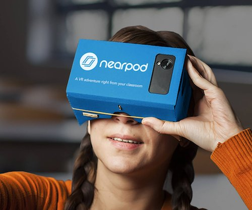 Virtual Reality @NearPod Lessons & Grant Application #edtech