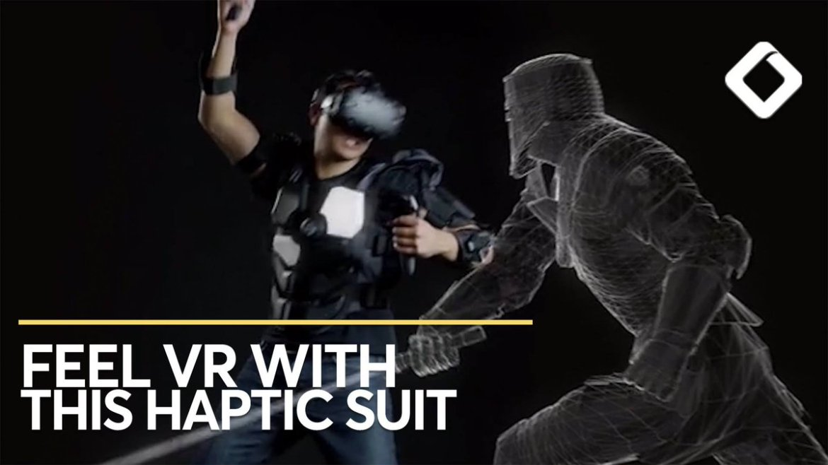This VR Suit Has 16 Haptic Zones: Virtual reality has never felt so real. Read more