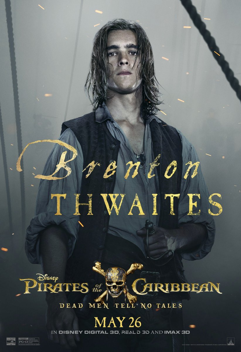 Pirates of the Caribbean Dead Men Tell No Tales posters