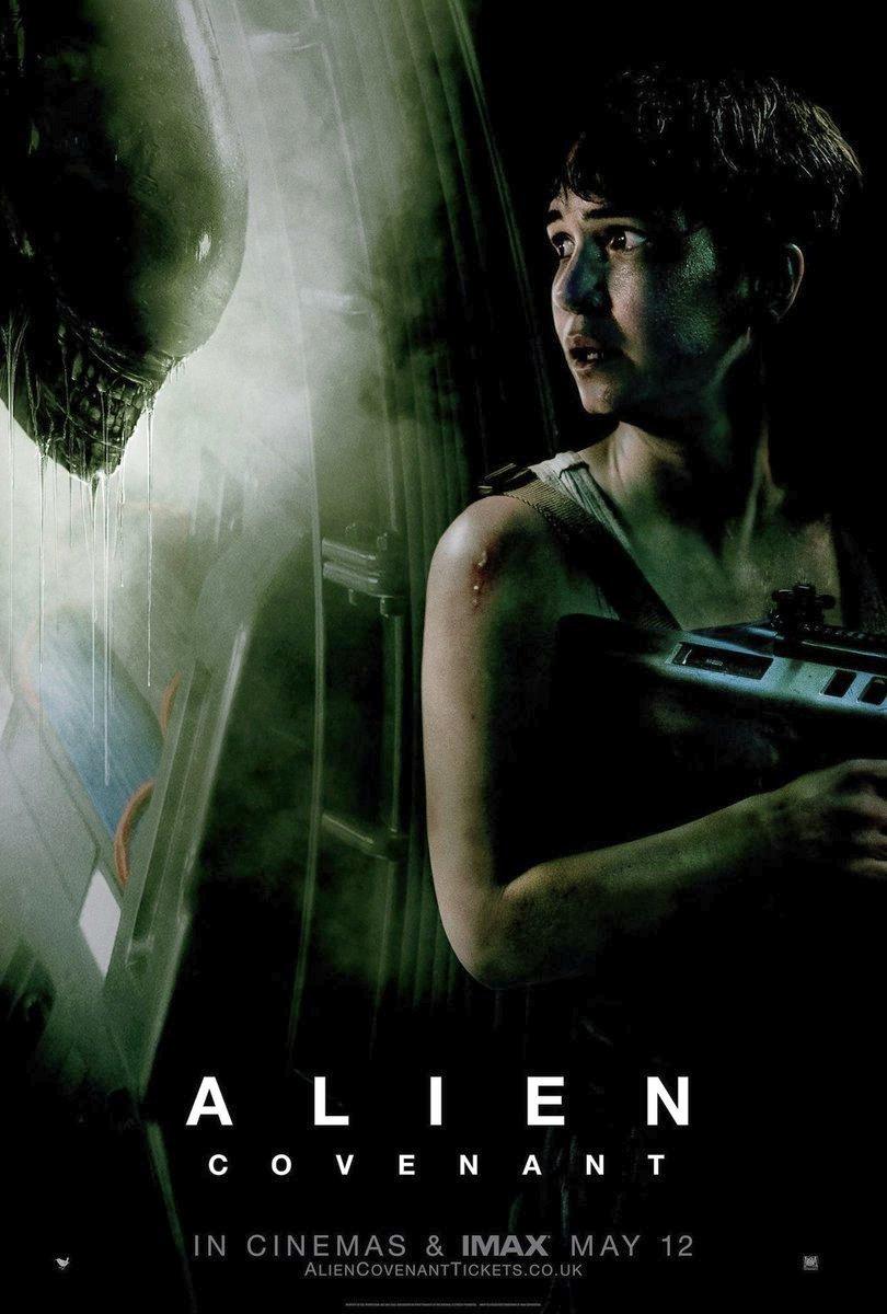 Alien: Covenant International Posters Revealed