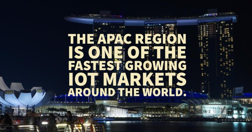 #DYK? #APAC is the leading global #IoT market - ! 🌏 #AI #GIoT #IIoT #CIoT #i40