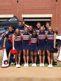 Auburn Football Cheerleaders