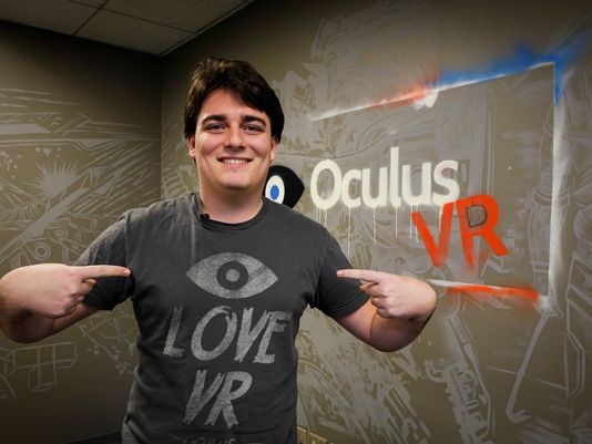 Oculus co-founder Palmer Luckey departs the company he co-created.