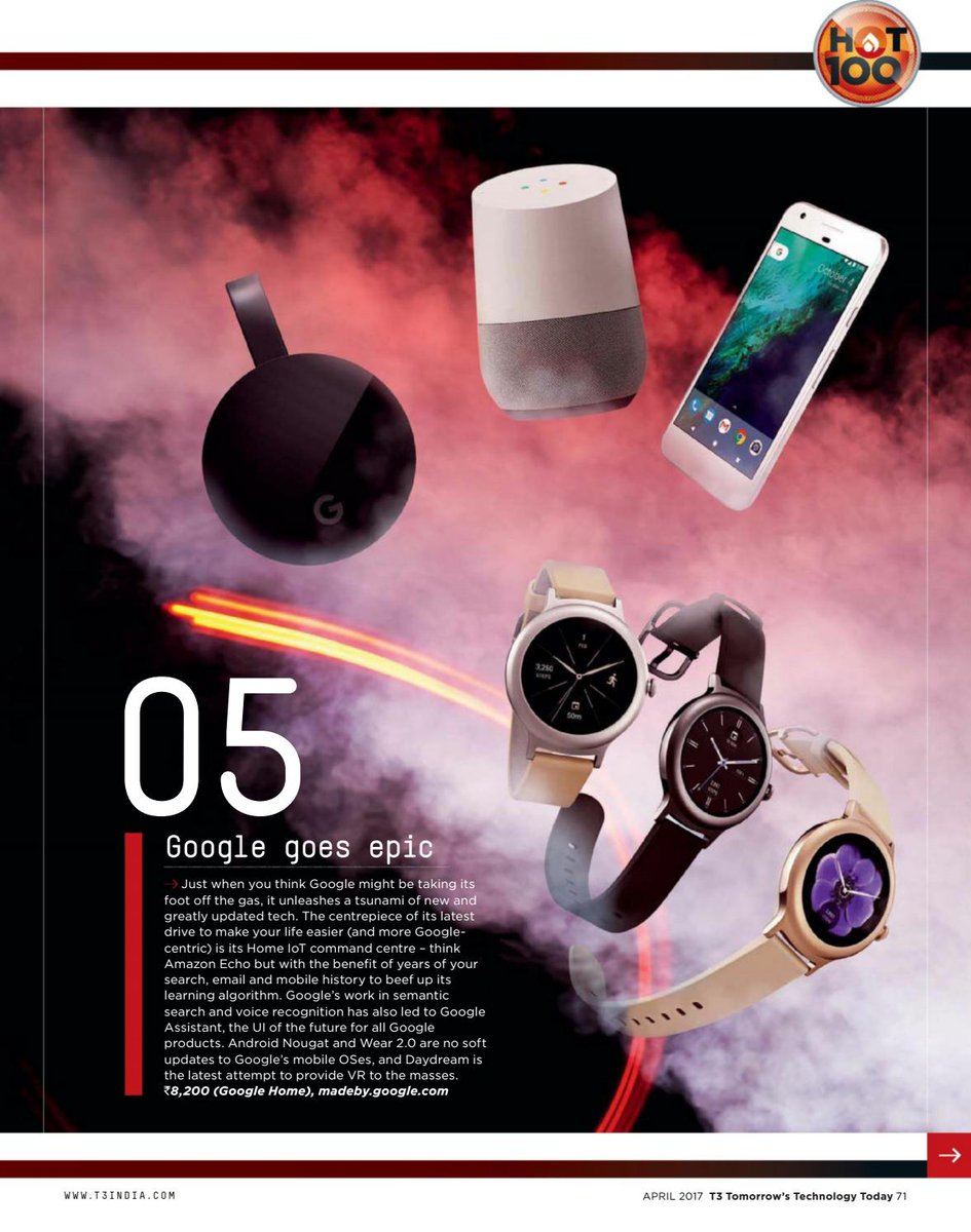 Google bets on #wearables and #IoT