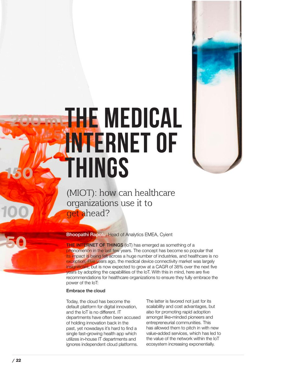 The Internet of Medical Things   #IoT #healthcare #digitalhealth