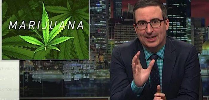 John Oliver rips federal #marijuana laws on @LastWeekTonight: