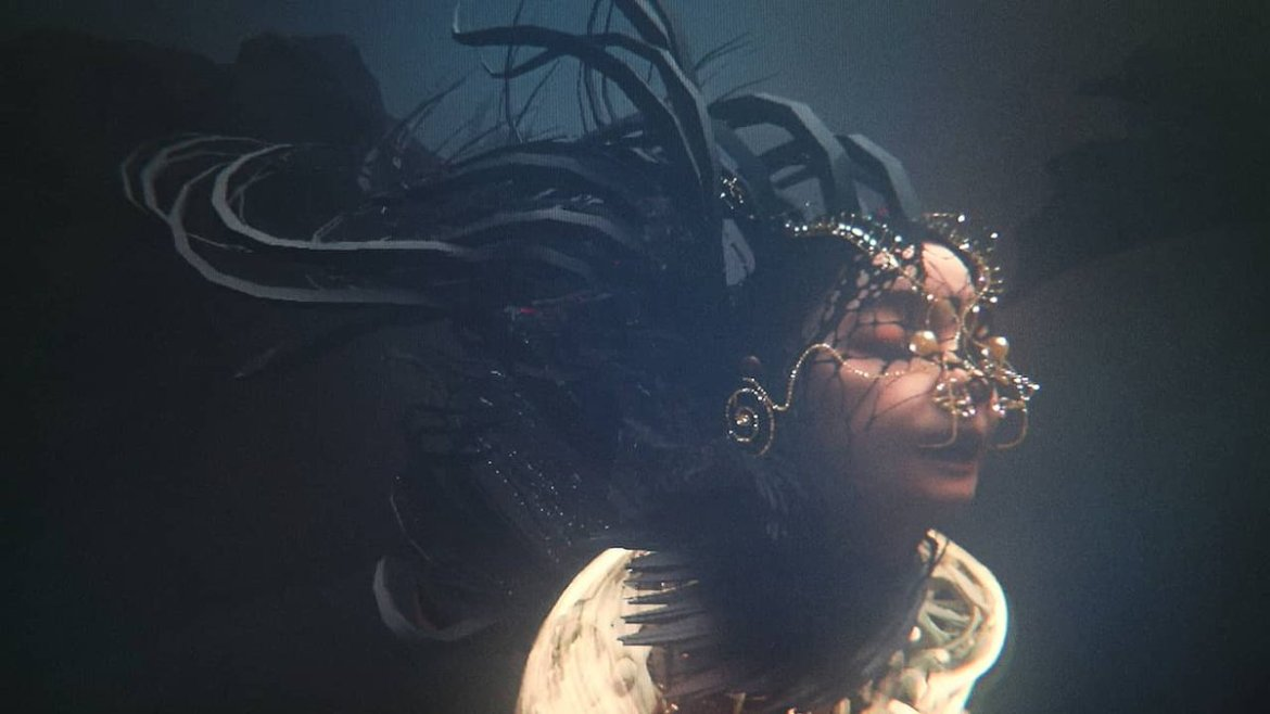 Watch @bjork's six-minute VR visual 'Notget':