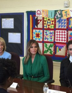 Yasmeen sami alamiri on twitter visit to excel academy public charter school in se dc by flotus queen rania of jordan and sec also rh