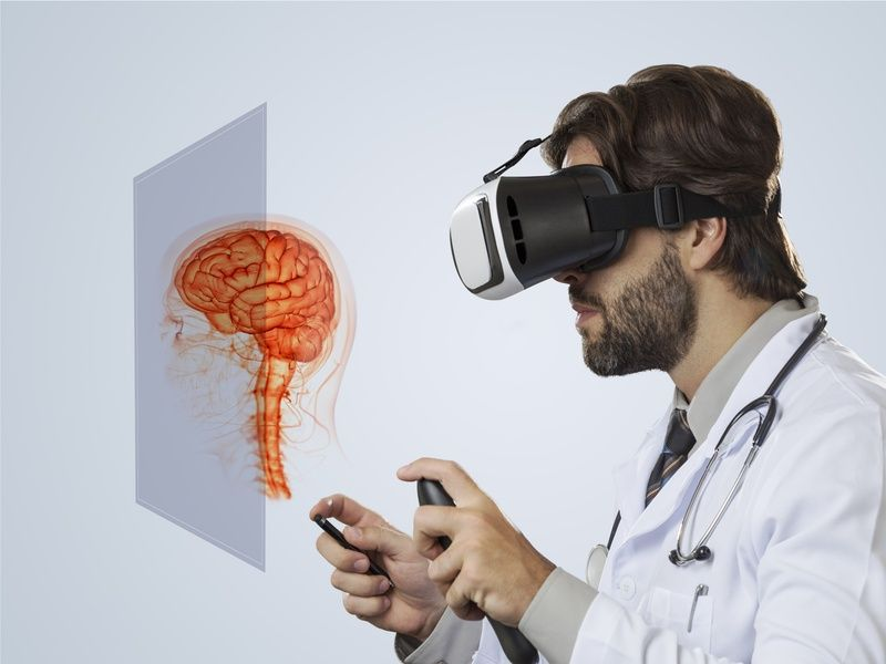 Could #VR be used to battle brain diseases?