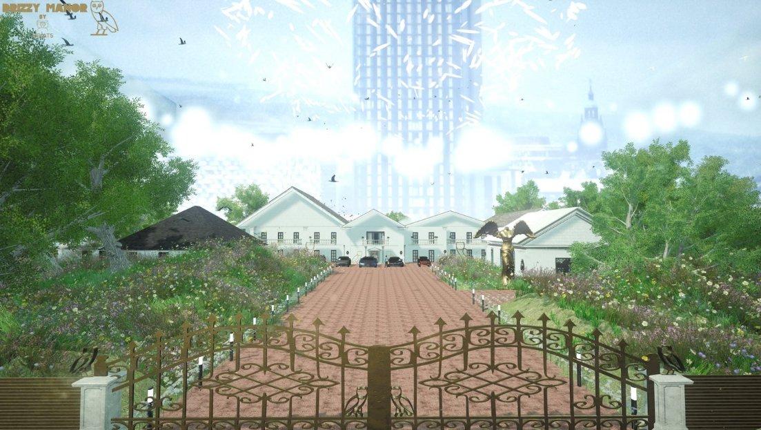 Take a virtual reality tour of Drake's huge new mansion.