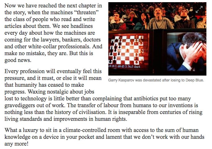 yes Yes YES @Kasparov63, who knows a thing or two about being challenged by tech progress: