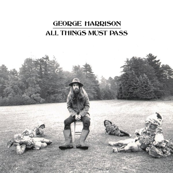 George Harrison All Things Must Pass Album Cover