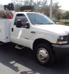 ajl trucks on twitter just in 2003 ford f 450 super duty utility service mechanics crane truck powerstroke diesel  [ 1200 x 675 Pixel ]