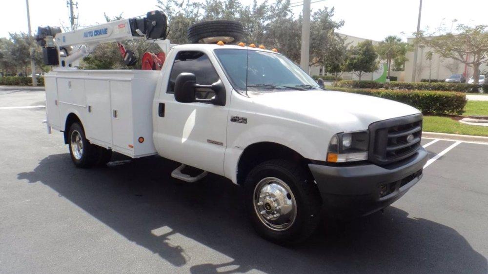 medium resolution of ajl trucks on twitter just in 2003 ford f 450 super duty utility service mechanics crane truck powerstroke diesel