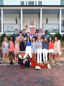 Auburn University Cheerleaders 2017 2018