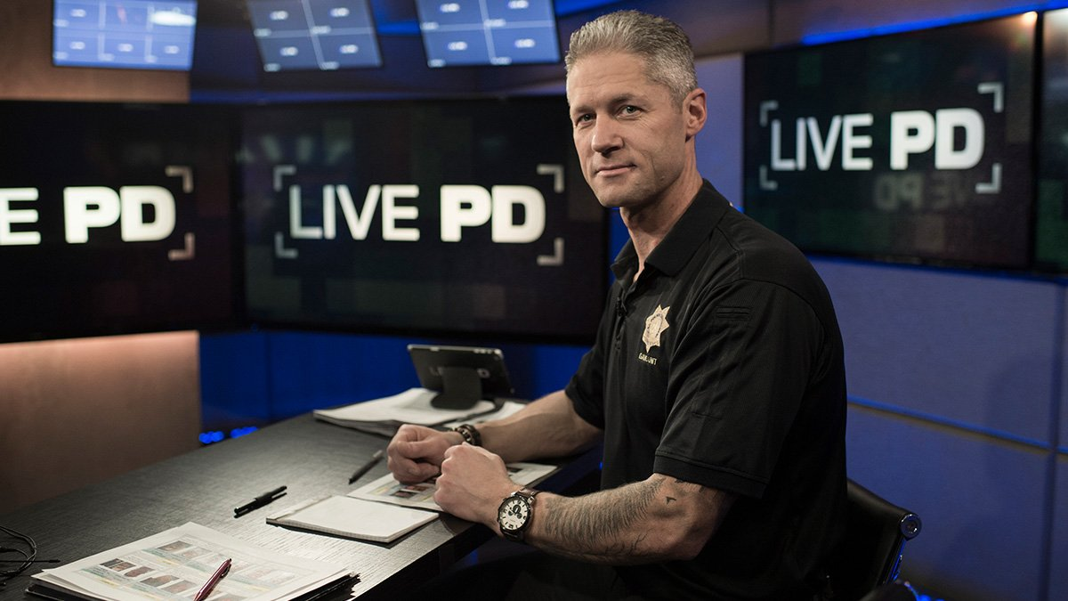 Live PD on AE on Twitter Sgt Larkin is going live on