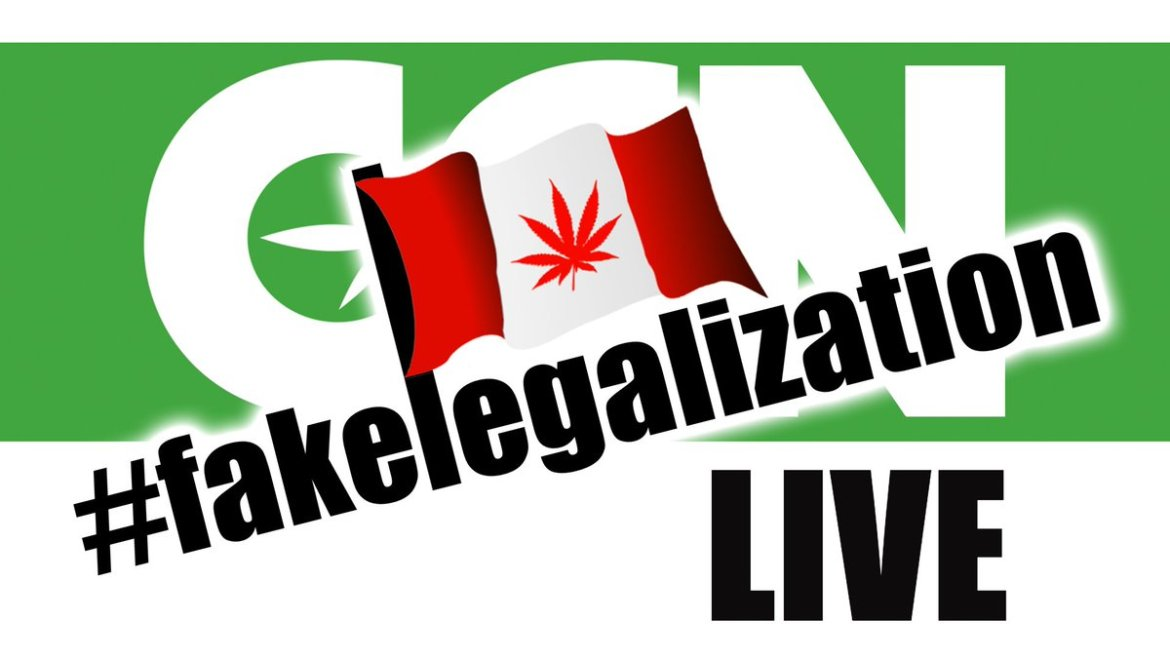 #fakelegalization WATCH LIVE @ 4PM PT