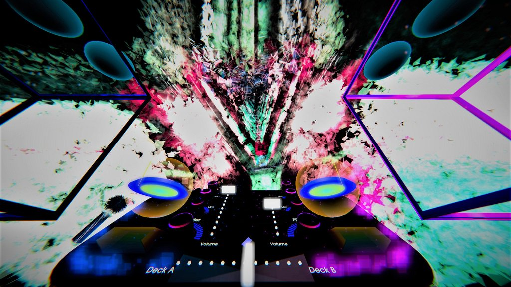 Head to a cosmic music festival with @TheWaveVR @htcvive #VR -