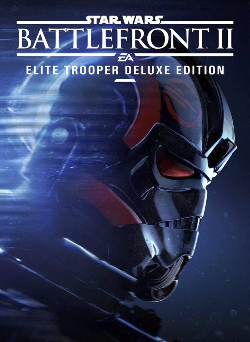 Star Wars Battlefront II Elite Trooper Deluxe Edition Box Art
