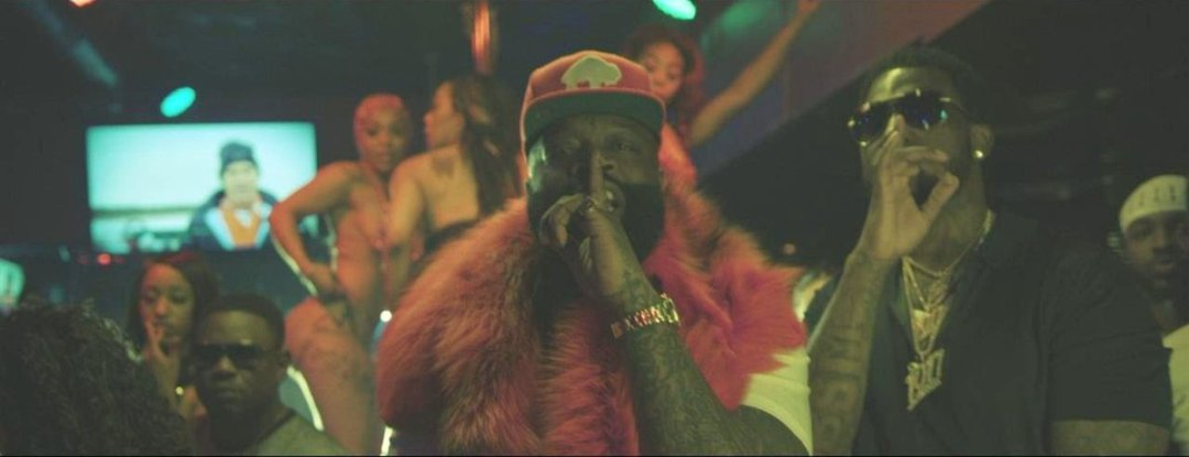Rick Ross – She On My Dick Music Video ft. Gucci Mane