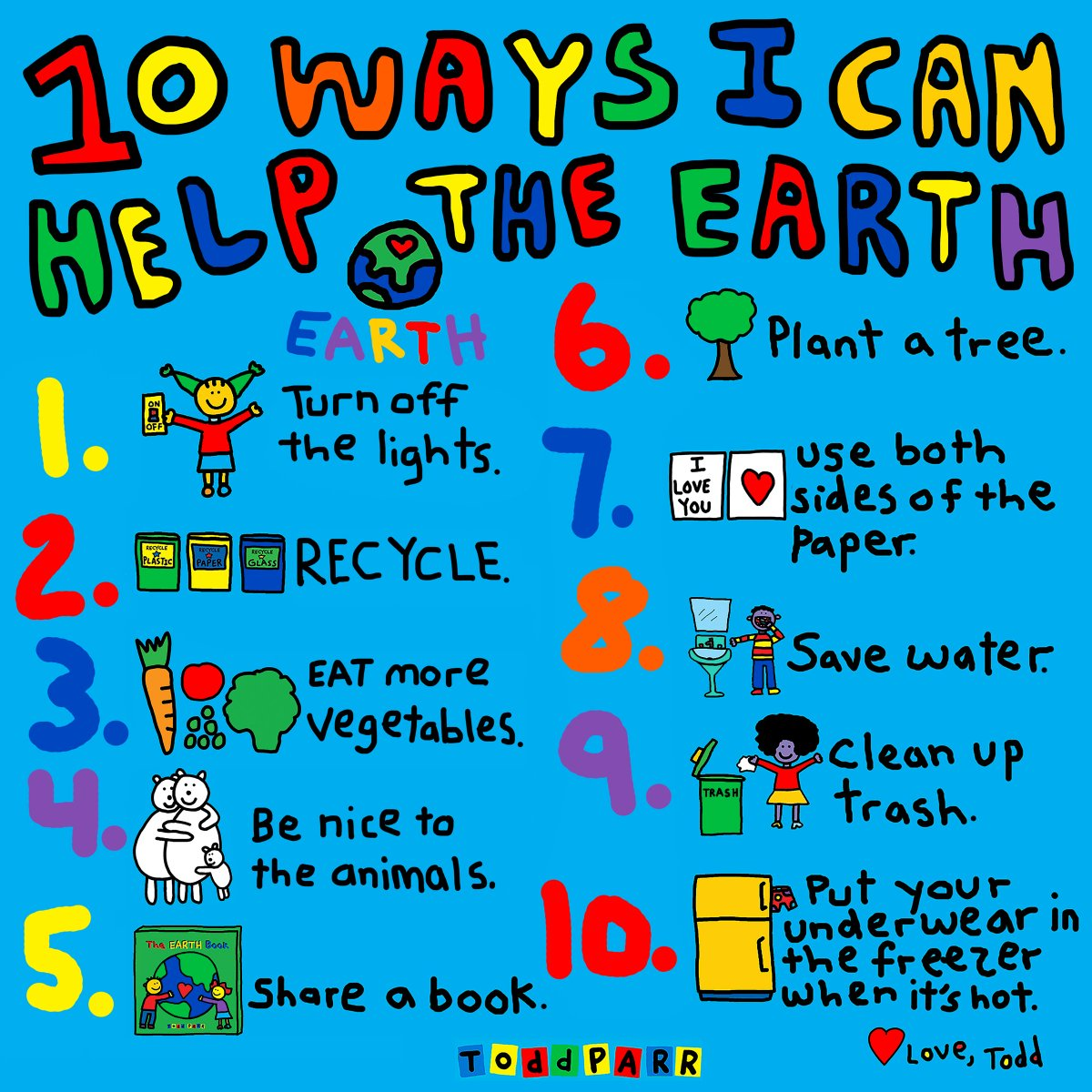 Todd Parr On Twitter Happy Earth Week Everyone