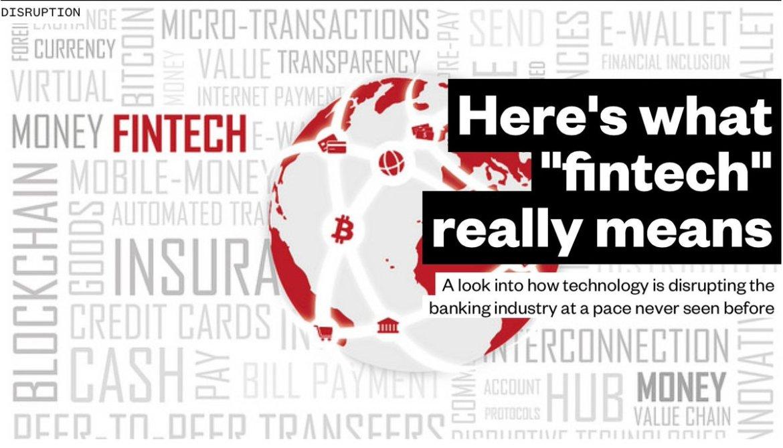 What is #Fintech?  #banking #blockchain #insurtech #payments #AI #IoT    @SpirosMargaris