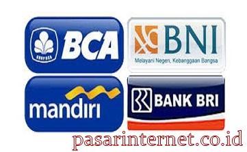 Pembayaran bisa transfer melalui Bank BCA,BRI,BNI atau MANDIRI