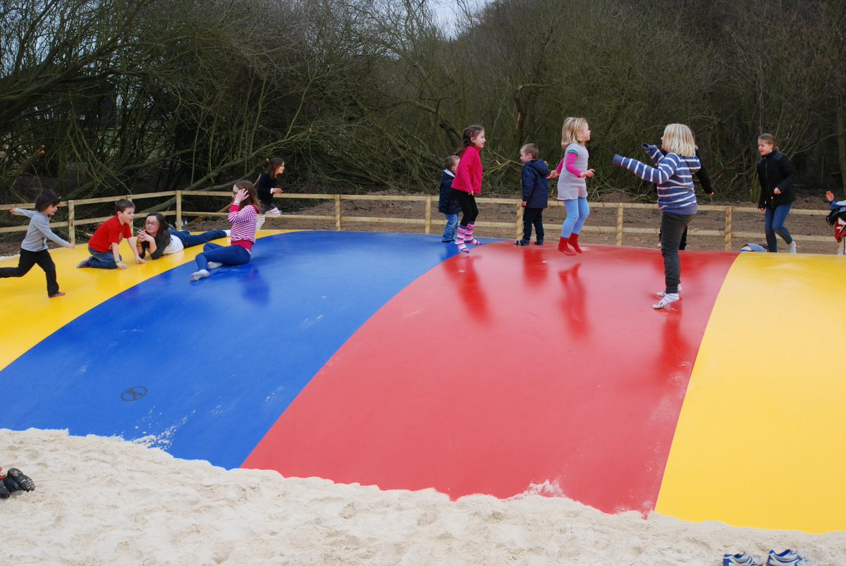 Jimmys Farm On Twitter The Kids Are Just Loving Our Jumping Pillow Come Amp Have A Jump 7 Days