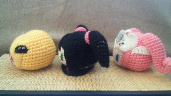 SEGA Hard Girls beanbags by Shiconshu