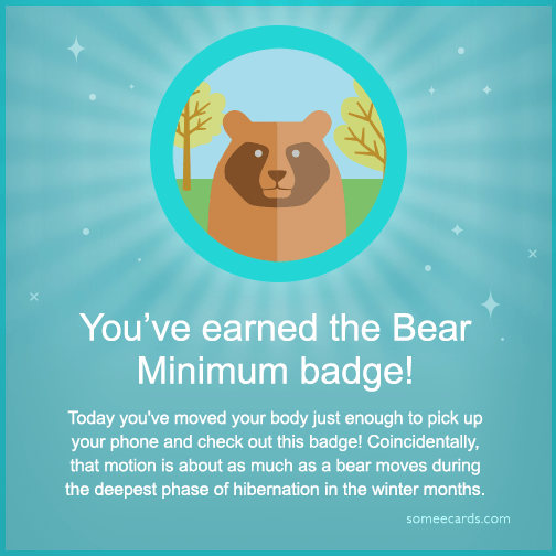 9 Fitbit Badges For The Extremely Lazy Scoopnest Com