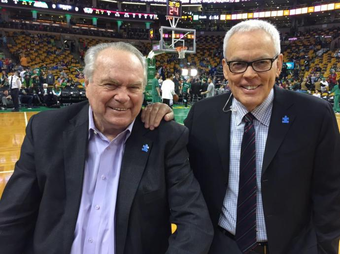 Image result for mike gorman and tommy heinsohn